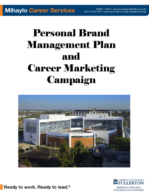 Brand Management Plan