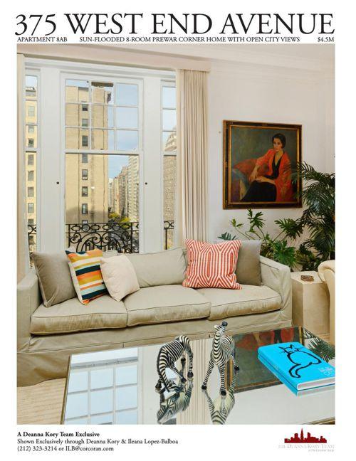 375 West End Avenue, Apartment 8AB