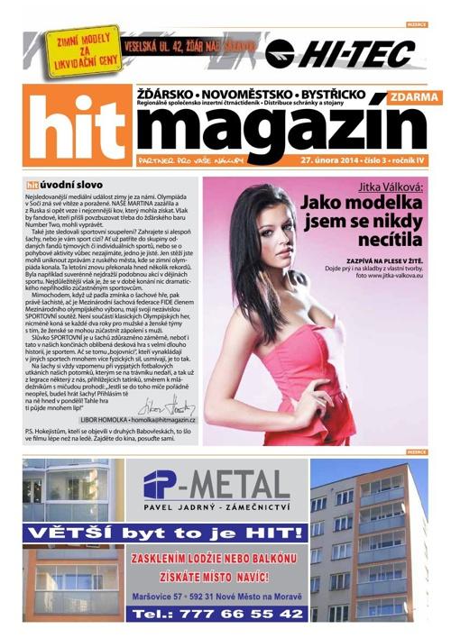 Hit magazín č.3 2014