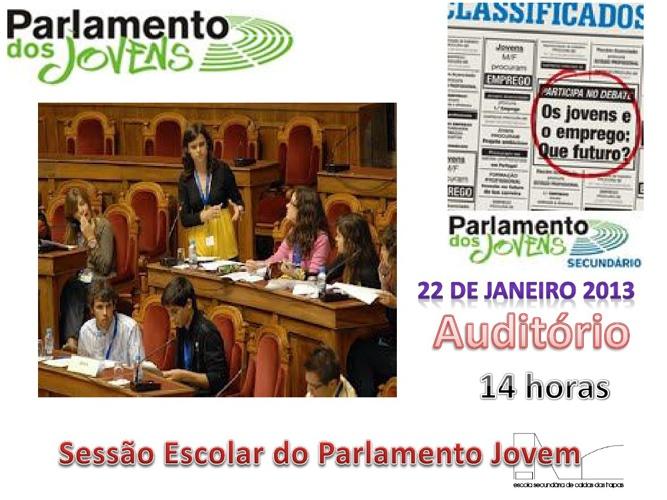 Deputados Eleitos para a Sessão Escolar - Parlamento dos Jovens