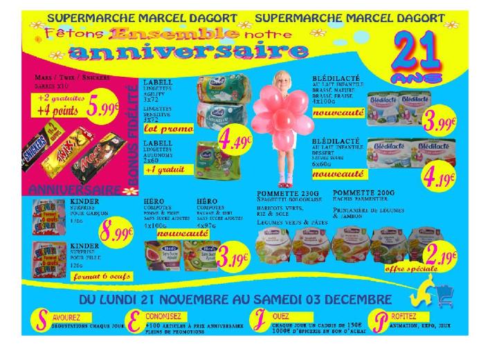 Dagort Promo Novembre 2011