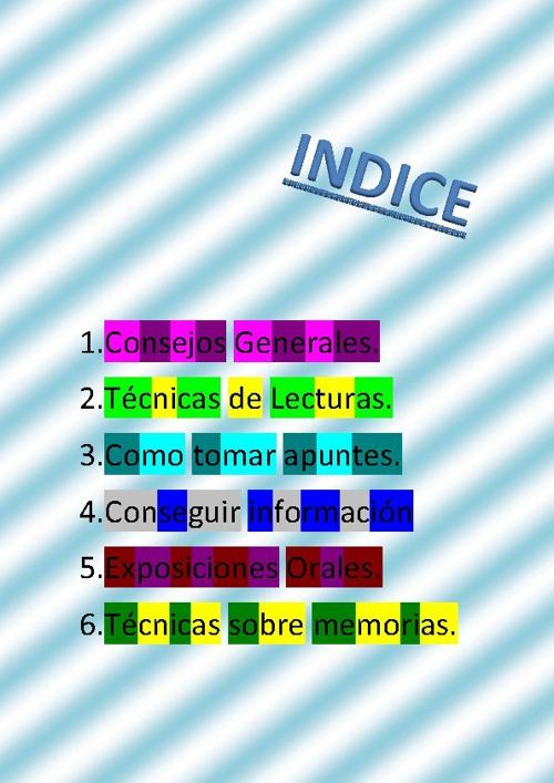 TÉCNICAS DE ESTUDIO (TUTORIA)