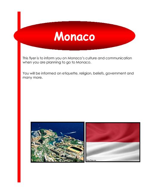 Monaco Flyer