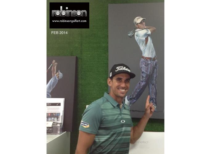 Robinson Golf Art - Feb 2014 Mag Newsletter