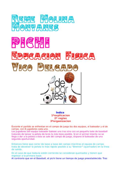 Educacion Fisica (Pichi)