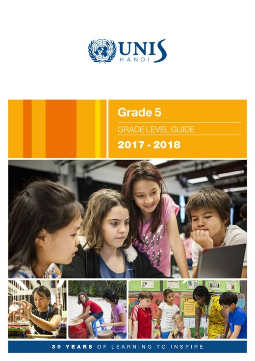 Grade 5 Curriculum Guide 2017-2018