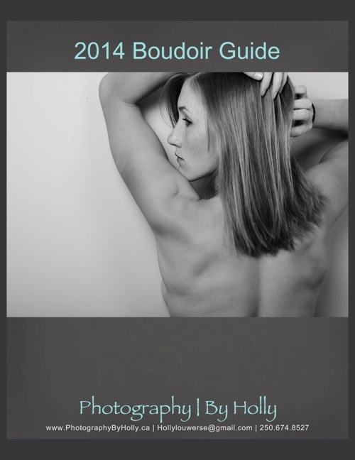 2014 Boudoir Rate Guide - Photography By Holly