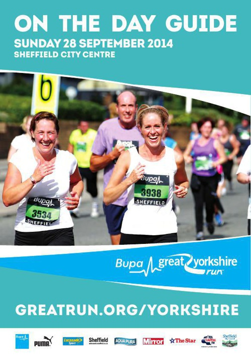 Bupa Great Yorkshire Run 2014 - On The Day Guide