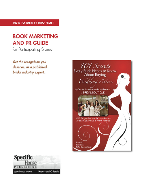 101 Bridal Secrets, Marketing Guide