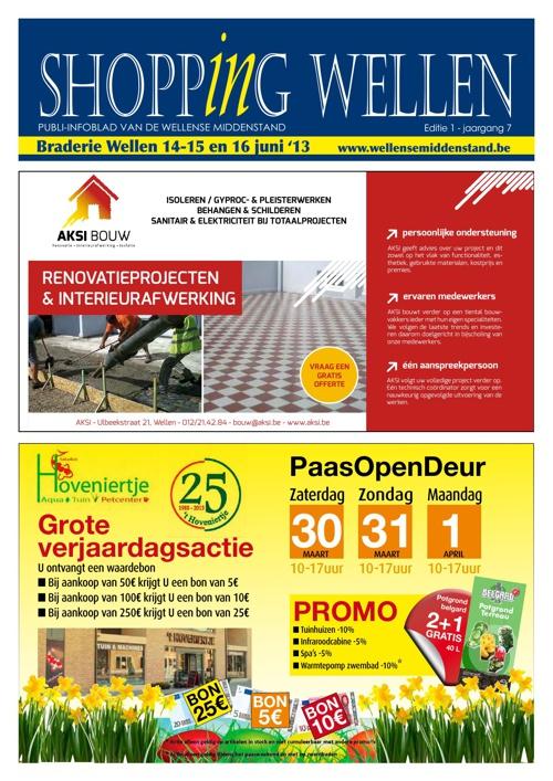 Shopping Wellen - Pasen & Moederdag editie - 2013 nr 1