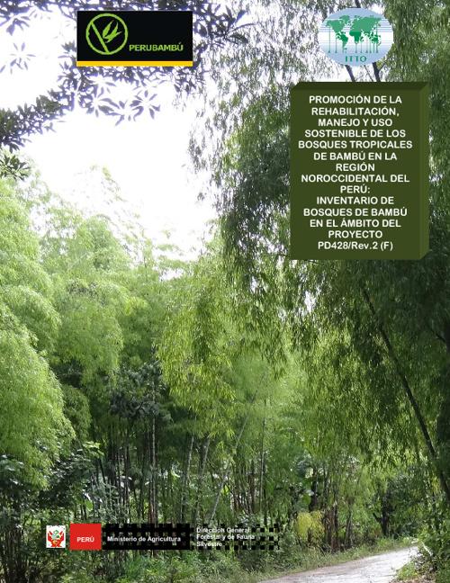 Inventario de bosques de bambú pd428