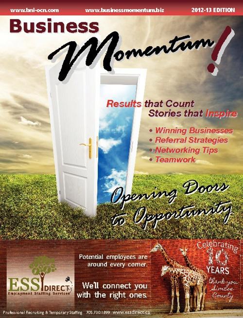 BNI Business Momentum 2012 - 2013