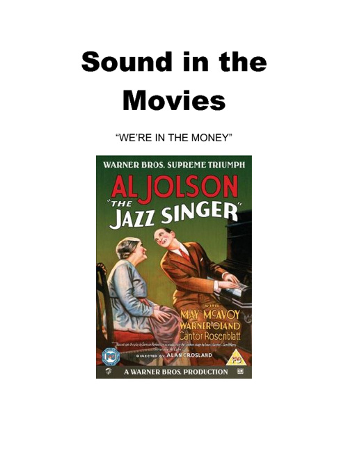 Sound in the Movies