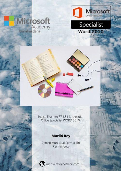 Indice Examen 77-881 Microsoft Specialist Word 2010