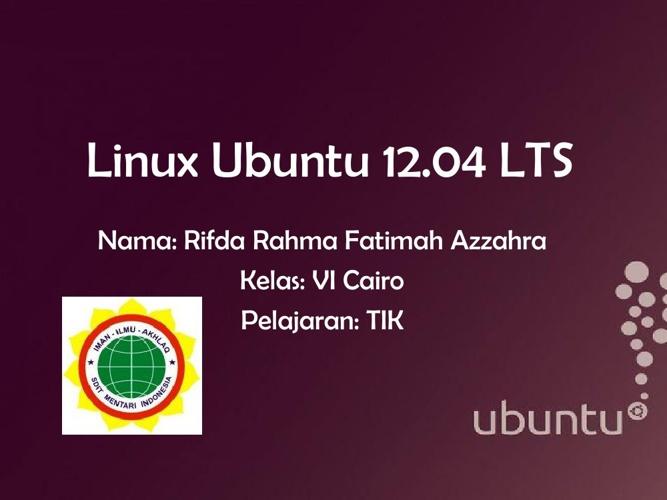 UPS TIK Rifda Rahma VI Cairo