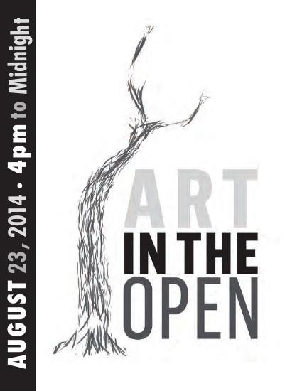 ART IN THE OPEN / ART À CIEL OUVERT - 2014 MAIN EVENT CATALOGUE