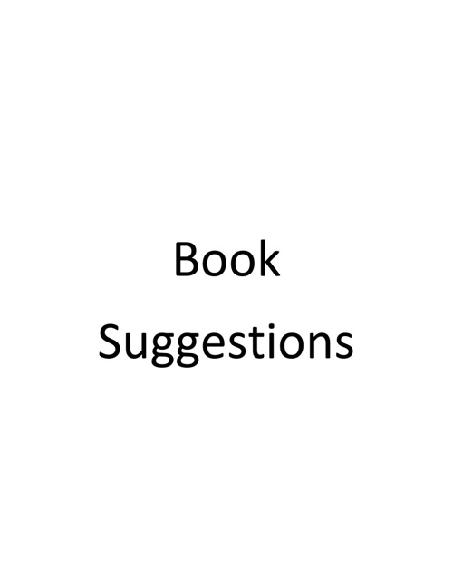 Book Suggestions