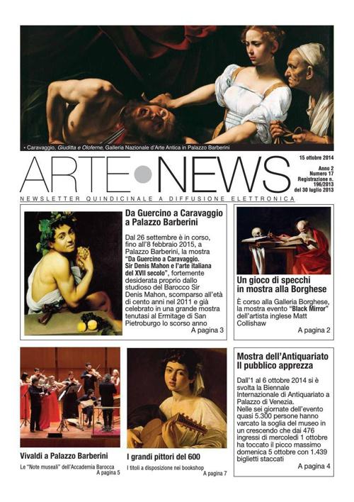 """Arte News"" - 15 ottobre 2014"