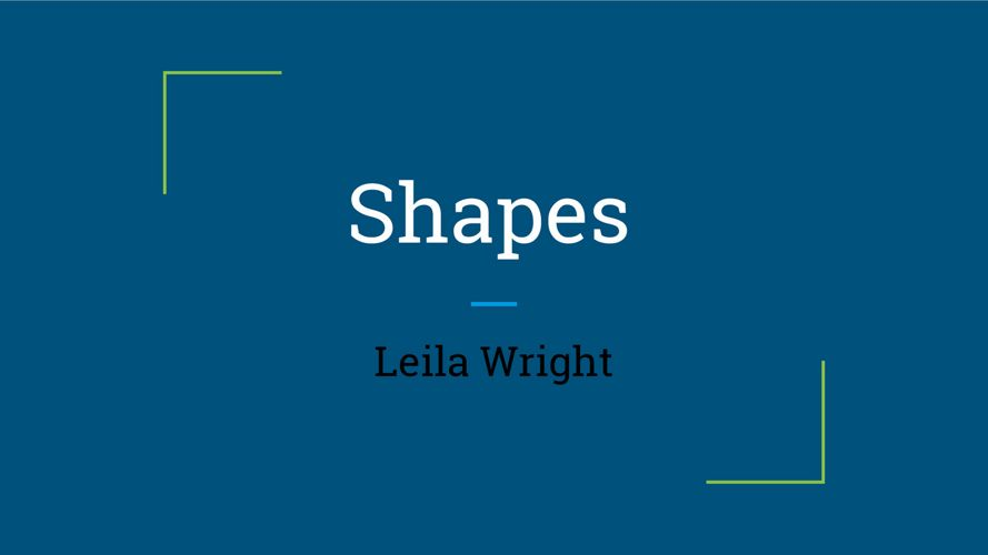 child developmet - leila wright