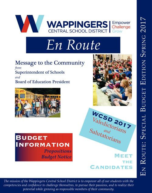 Wappingers Spring 2017 Budget News
