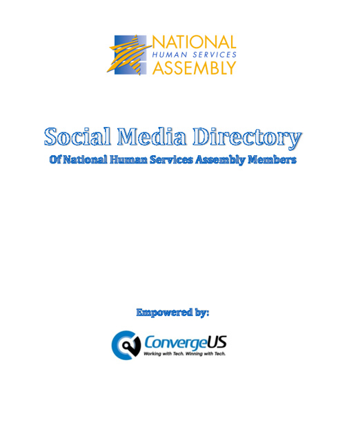 Updated Social Media Directory