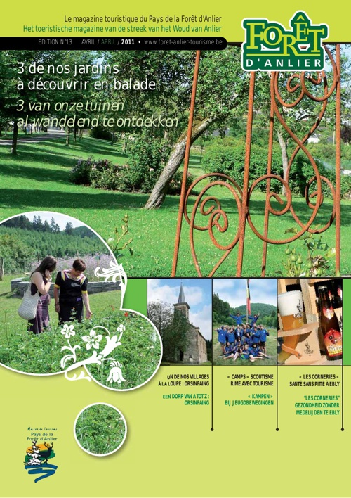 Anlier Magazine Avril 2011