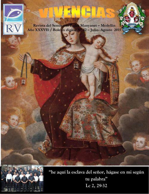 edición revista vivencias mes  de julio-Agosto  2015.  spm