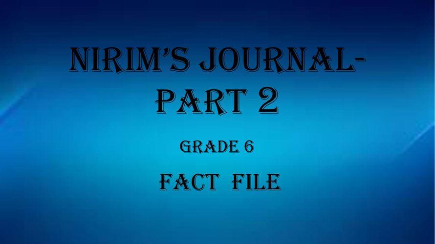 Fact File 2