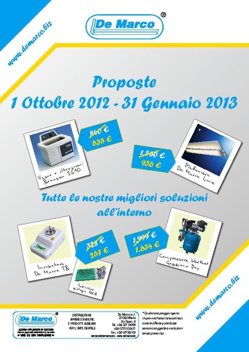 Proposte 1/10/2012-1/1/2013