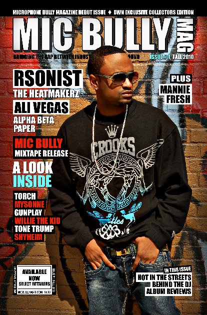 MIC BULLY MAGAZINE PREVIEW/SAMPLE