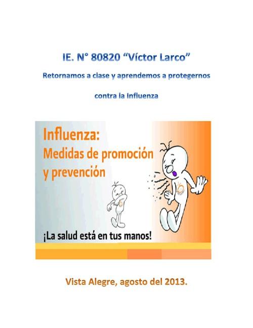 La Influenza AH1N1