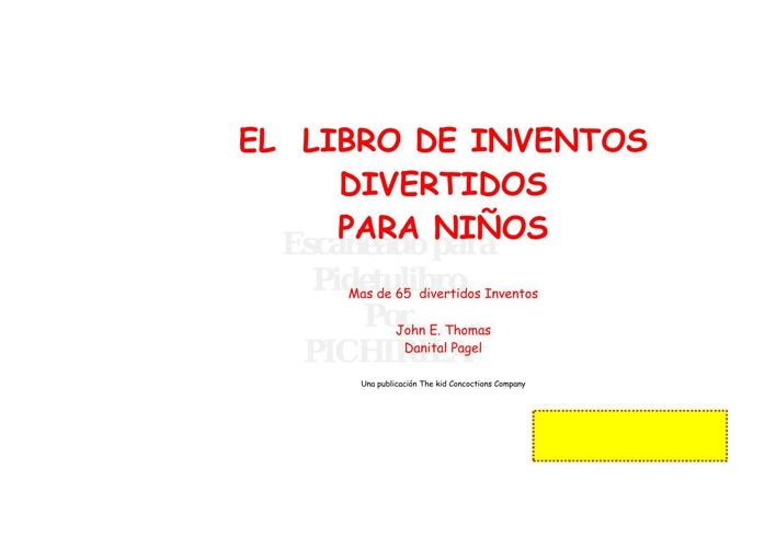 Mi libro de inventos