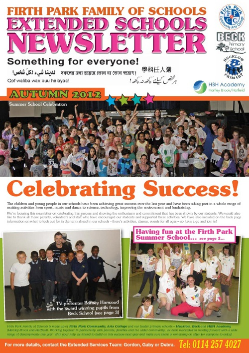 Extended Schools Newsletter