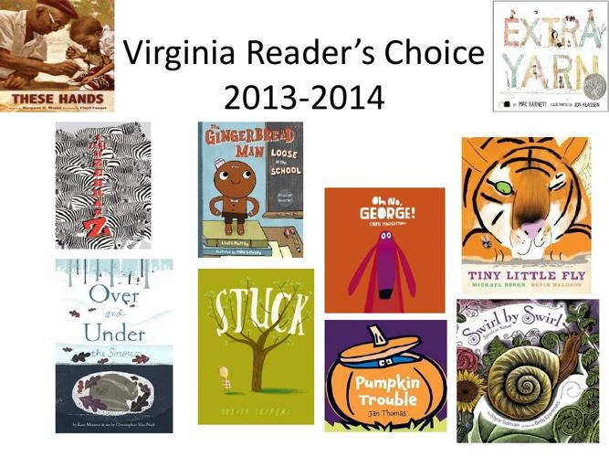 Virginia Reader's Choice 2013-2014