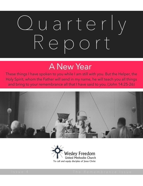 Quarterly Report January 2014
