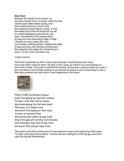 The new poem list