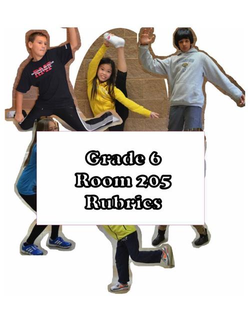 Room205 Rubrics