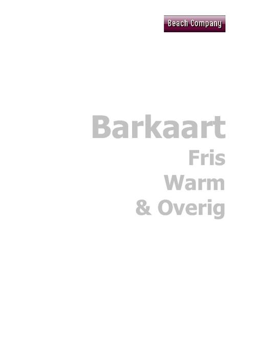 Barkaart