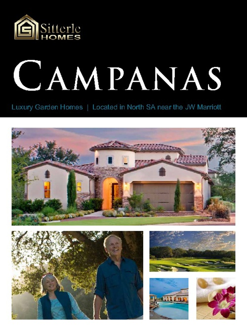Sitterle Homes Campanas Brochure