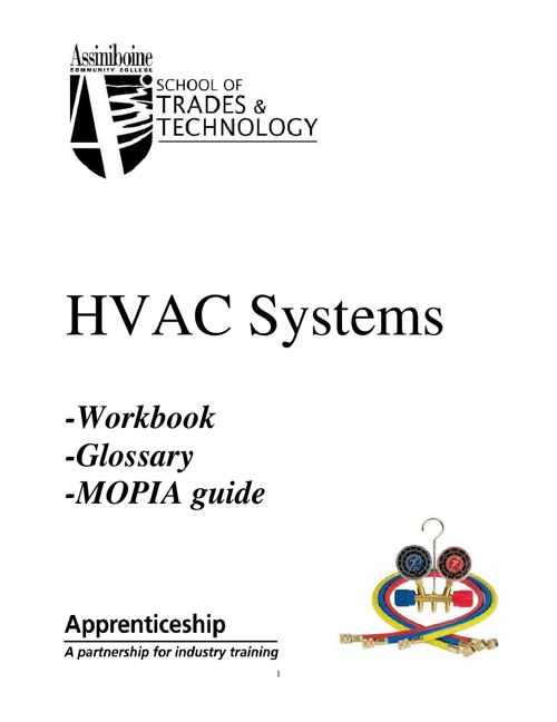 HVAC Workbook & Glossary