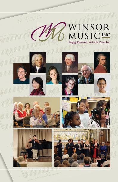 Winsor Music Brochure