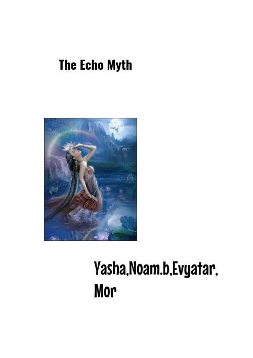 the echo myth