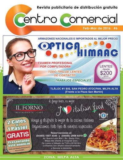 Revista Centro Comercial #6 Feb-Mar de 2016