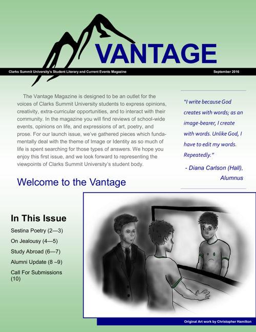 Vantage Issue ONE