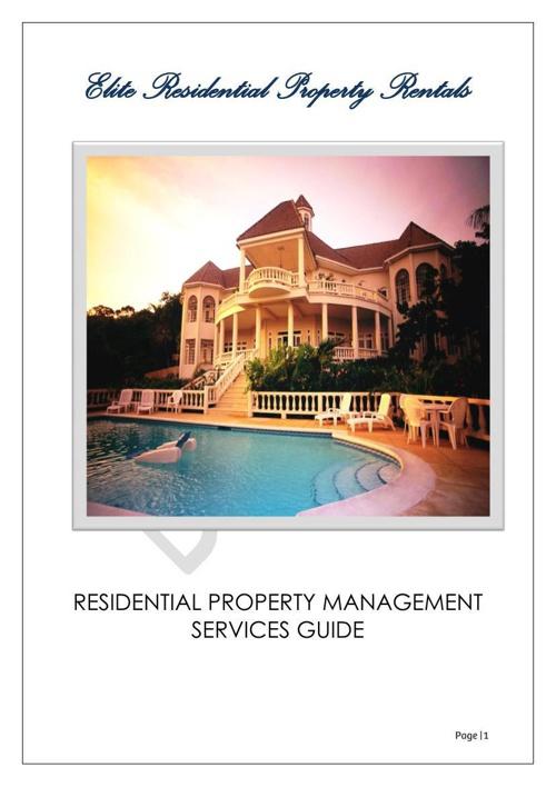 Elite Rentals PM Guide