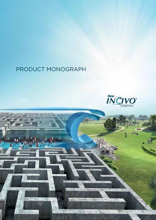 INCIVO PRODUCT MONOGRAPH