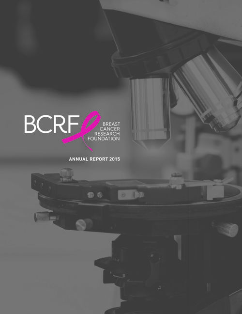 BCRF 2015 Annual Report