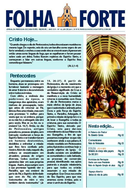 Folha Forte - junho 2011