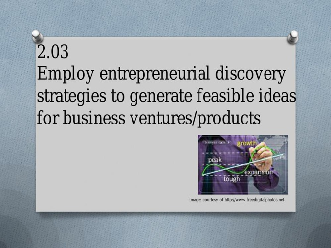 Entrepreneurial Discovery Strategies