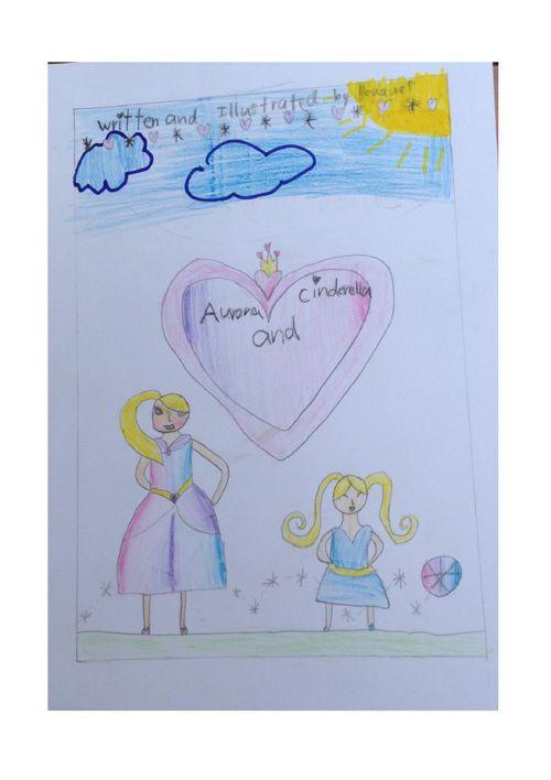 Aurora and Cinderella by Bouquet